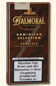 Balmoral Dominican Selection Panatela Zigarren