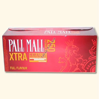 Pall Mall Xtra Rot Zigarettenhülsen 200er