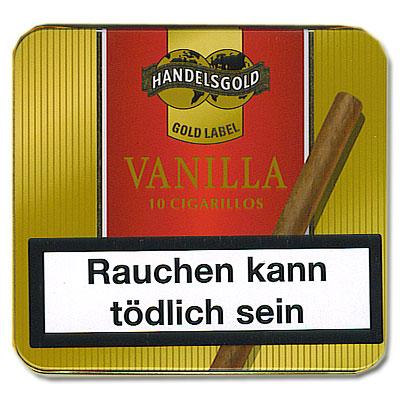 Handelsgold Gold Label Vanilla o.F. Zigarillos