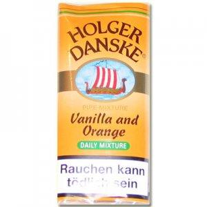 Holger Danske Vanilla and Orange 50g