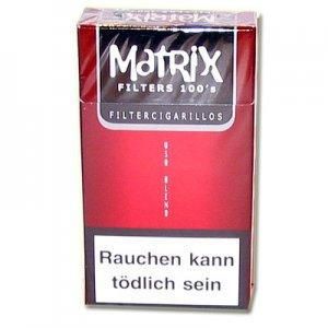 Matrix Red 100er Filterzigarillos