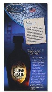 Whiskey Elijah Craig 12 Jahre Spirituosen