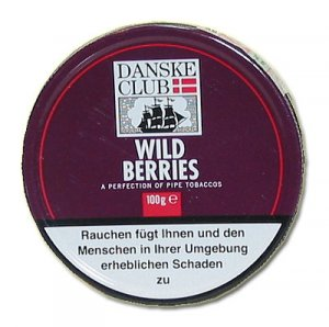 Danske Club Pfeifentabak Burgundy 100g (ehem.Wild Berries)