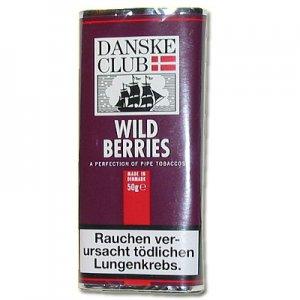 Danske Club Pfeifentabak Burgundy (ehem. Wild Berries) 50g Päckchen