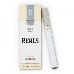 Reals Vanille Tabak Medium E-Zig.