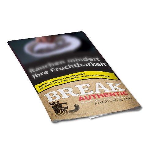 Break Tabak Authentic 30g Päckchen Feinschnitt (Artikel wird nicht mehr hergestellt)