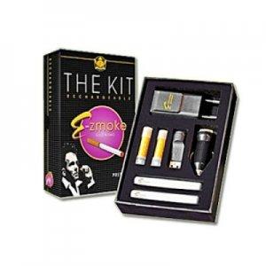 E-Zmoke The Kit E-Zigarette Starter-Kit mit Kartuschen und 2 x Akku