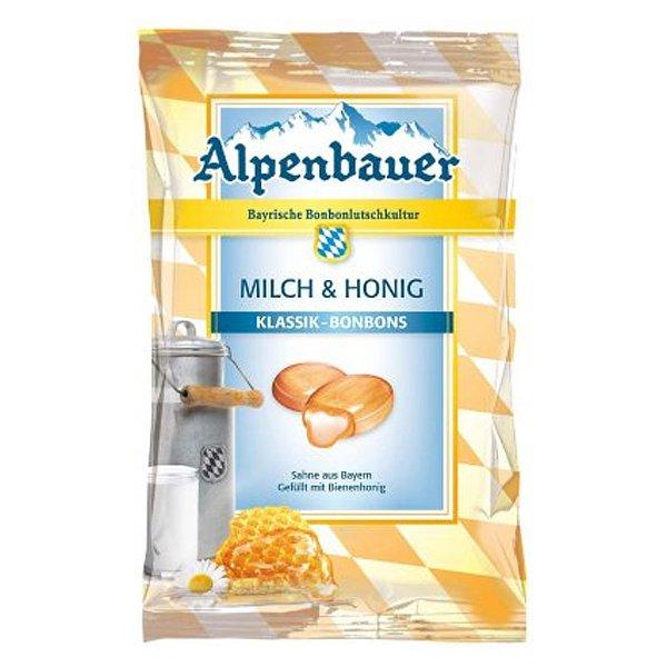 Alpenbauer Milch & Honig Bonbon 90g Beutel