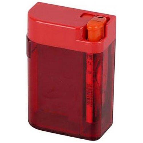 Zigarettenbox mit Piezofeuerzeug Rot 85mm