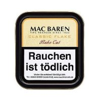 Mac Baren Pfeifentabak Classic Flake 50g Dose