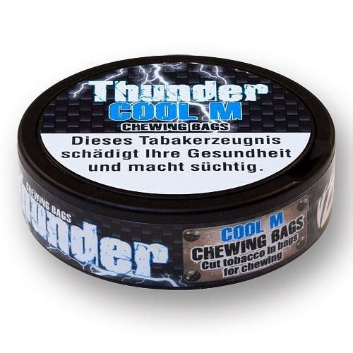 Thunder Snus COOL M (Mint) Chewing Bags 17,6g Dose