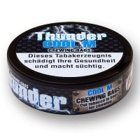 Thunder Chewing Bags COOL M (Mint) 17,6g