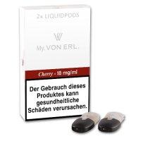 E-Kartusche VON ERL MY Cherry 18 mg 2 Stück