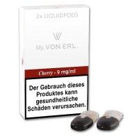 E-Kartusche VON ERL MY Cherry 9 mg 2 Stück