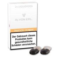 E-Kartusche VON ERL MY Pina CoChi 0 mg 2 Stück