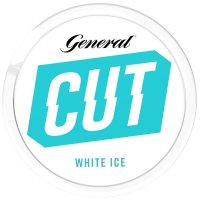 General CUT White ICE (Blue) Chewing Bags 8g Dose