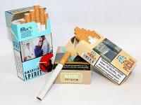 Zigaretten ohne Zusätze