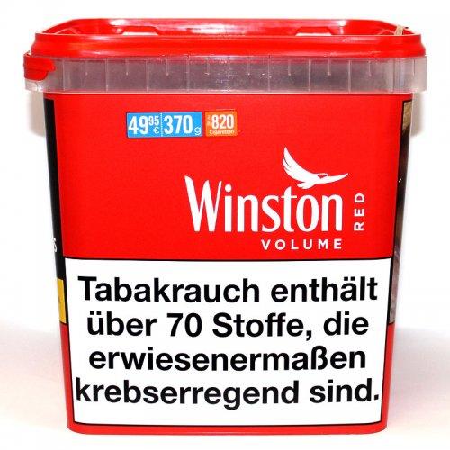 Winston Tabak Rot 370g Giant Box Volumentabak