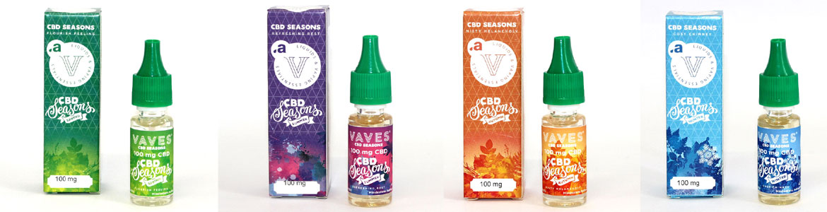 CBD Liquid Vave Seasons Spring, Summer, Autum, Winter