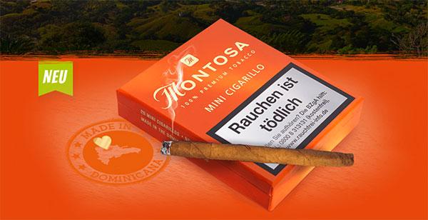 Montosa Mini Zigarillos - Premium Qualität aus dem Herzen der Dominikanischen Republik