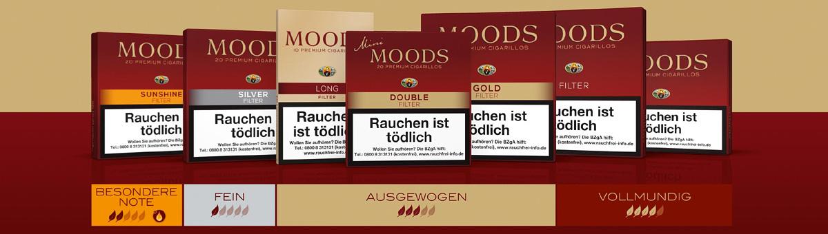 Moods Zigarillos online kaufen