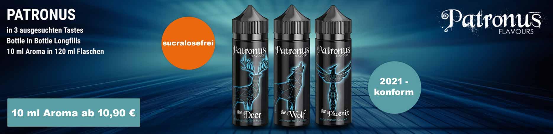Patronus Aroma von Ultrabio zur Herstellung von Liquids für e-Zigaretten