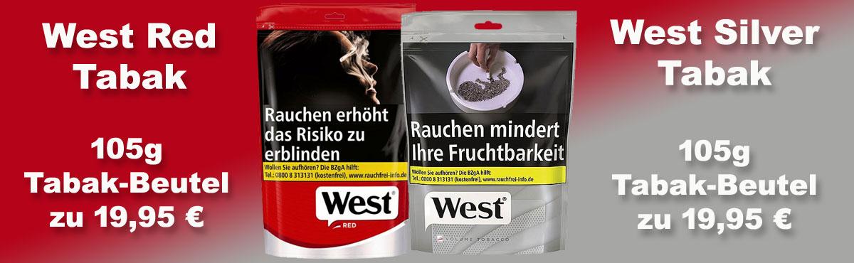 West Volumentabak online kaufen