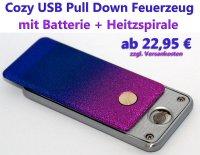 Pull Down USB Feuerzeug