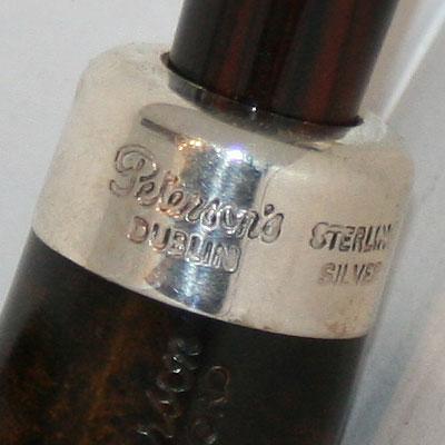 Großaufnahme vom Sterling Silberring