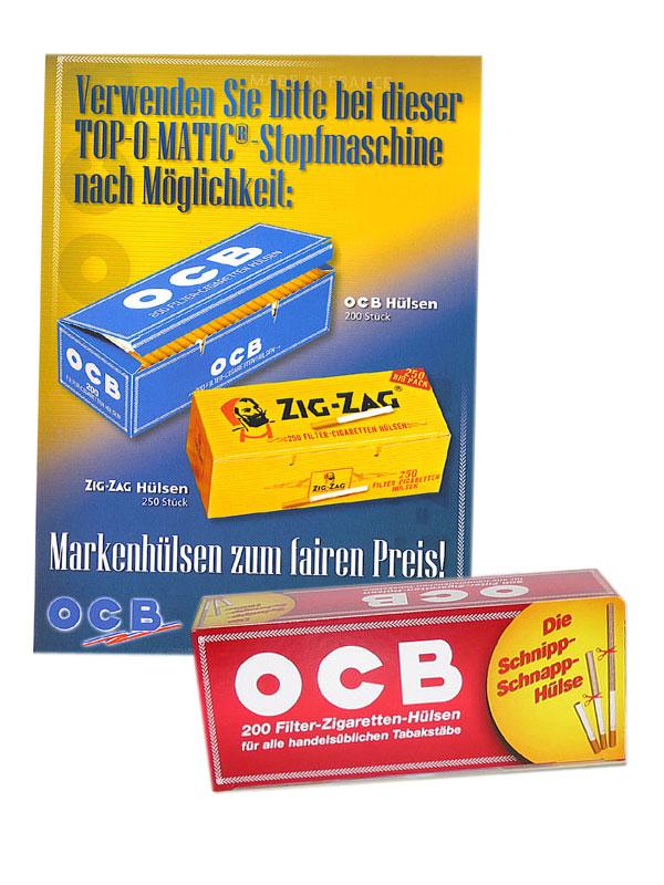 OCB- und ZigZag-Hülsen
